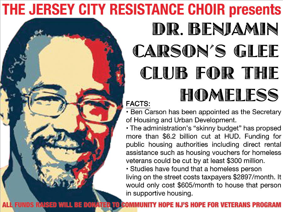 Ben Carson Glee Club for the Homeless